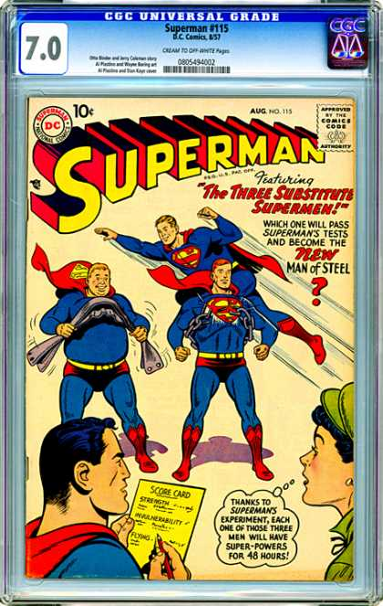 CGC Graded Comics - Superman #115 (CGC)