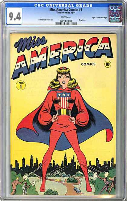 CGC Graded Comics - Miss America Comics #1 (CGC)