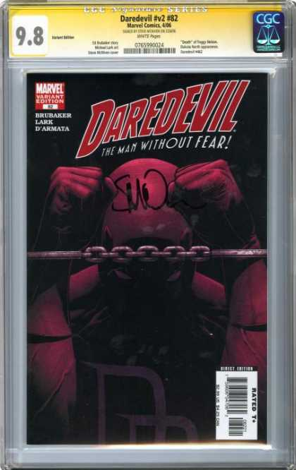 CGC Graded Comics - Daredevil #v2 #82 (CGC)