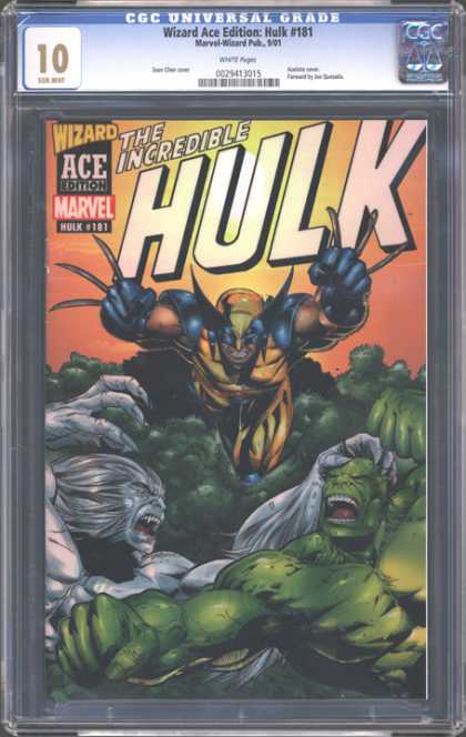 CGC Graded Comics - Wizard Ace Edition: Hulk #181 (CGC)