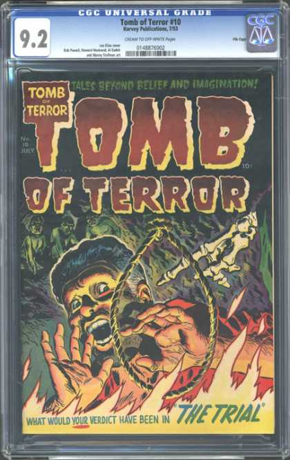 CGC Graded Comics - Tomb of Terror #10 (CGC)