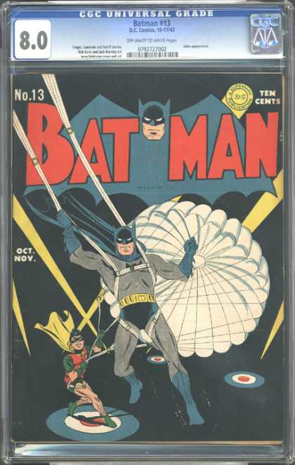 CGC Graded Comics - Batman #13 (CGC)