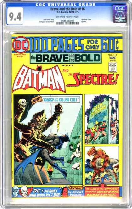 CGC Graded Comics - Brave and the Bold #116 (CGC)