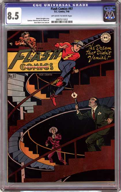 CGC Graded Comics - Flash Comics #97 (CGC)