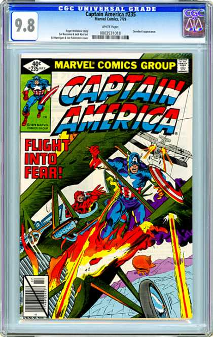 CGC Graded Comics - Captain America #235 (CGC)
