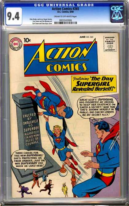 CGC Graded Comics - Action Comics #265 (CGC)