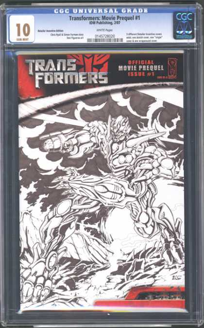 CGC Graded Comics - Transformers: Movie Prequel #1 (CGC)