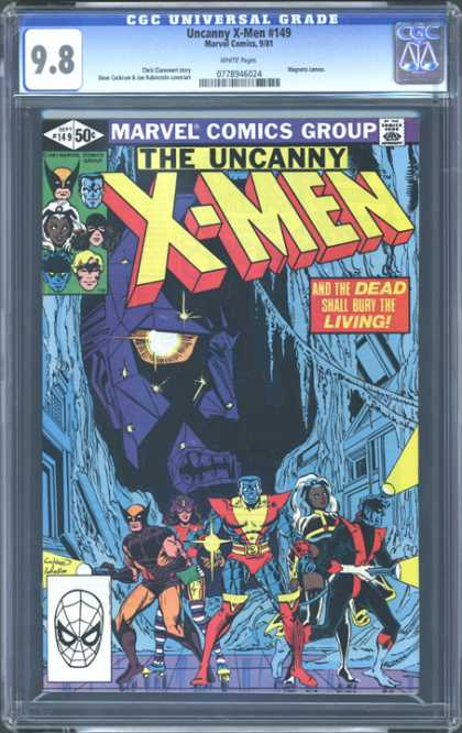 CGC Graded Comics - Uncanny X-Men #149 (CGC)