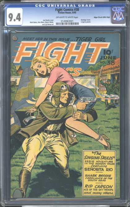CGC Graded Comics - Fight Comics #38 (CGC)