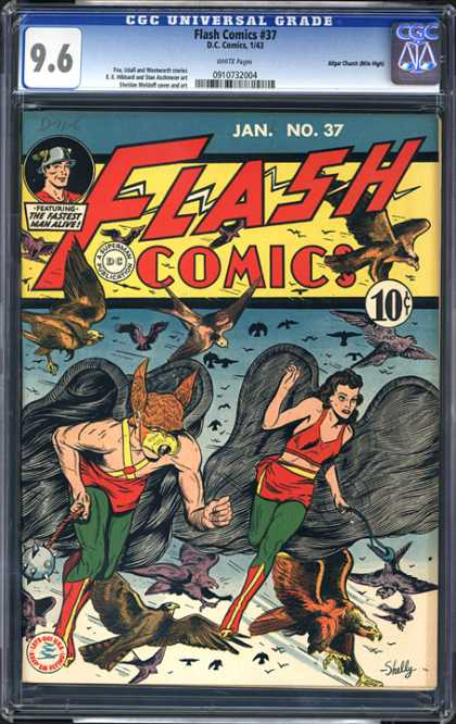 CGC Graded Comics - Flash Comics #37 (CGC)