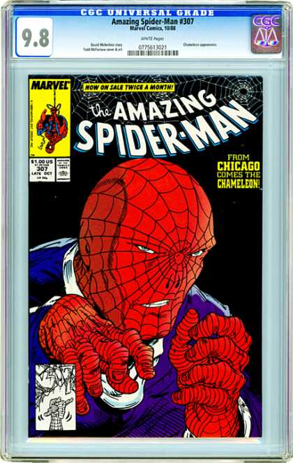 CGC Graded Comics - Amazing Spider-Man #307 (CGC)