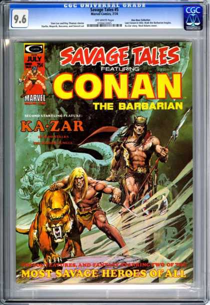 CGC Graded Comics - Savage Tales #5 (CGC)