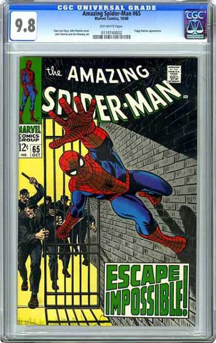 CGC Graded Comics - Amazing Spider-Man #65 (CGC)