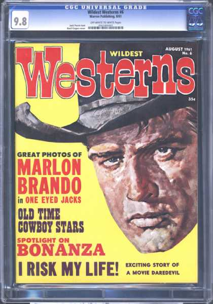 CGC Graded Comics - Wildest Westerns #6 (CGC)