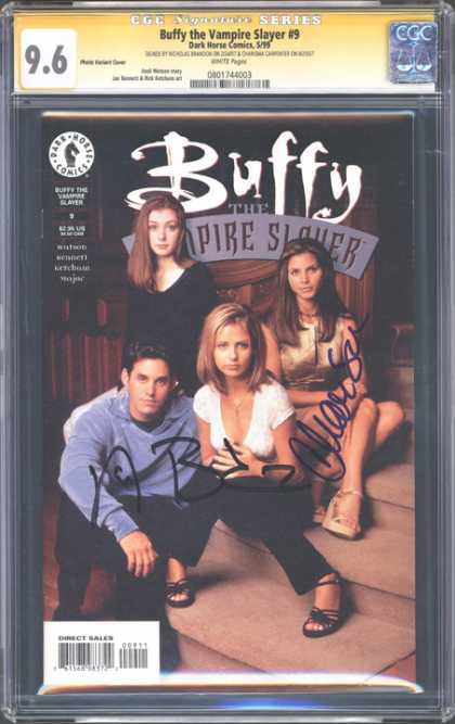 CGC Graded Comics - Buffy the Vampire Slayer #9 (CGC)