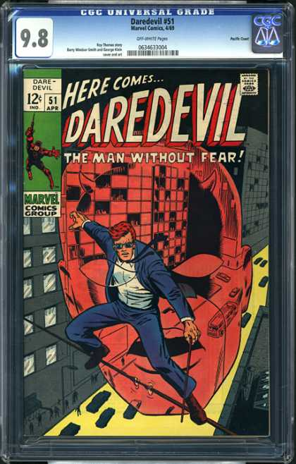 CGC Graded Comics - Daredevil #51 (CGC)