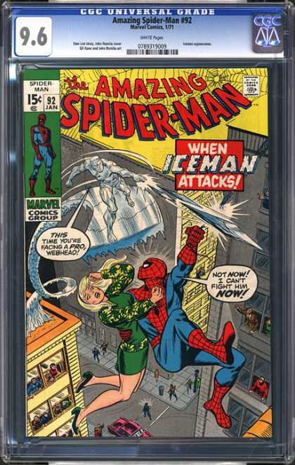 CGC Graded Comics - Amazing Spider-Man #92 (CGC)