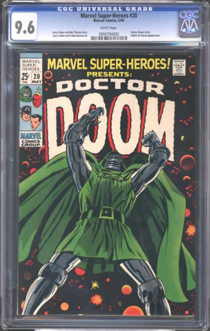 CGC Graded Comics - Marvel Super-Heroes #20 (CGC)