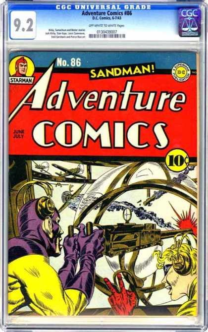 CGC Graded Comics - Adventure Comics #86 (CGC)