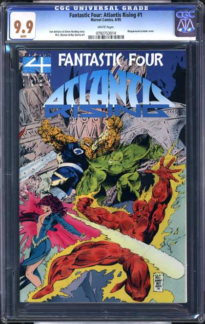 CGC Graded Comics - Fantastic Four: Atlantis Rising #1 (CGC) - Fantastic Four - Atlantis - Rising - Human Torch - Marvel