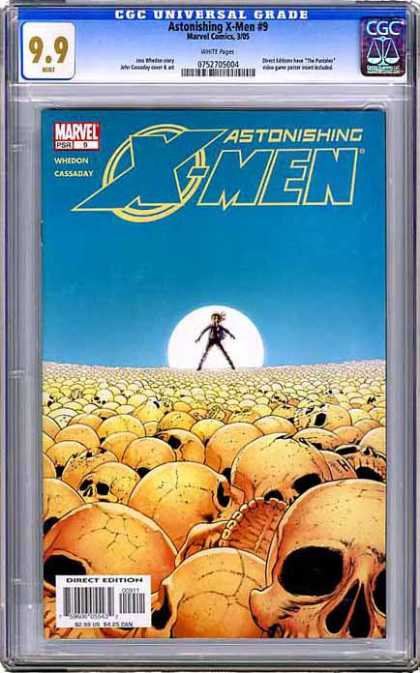 CGC Graded Comics - Astonishing X-Men #9 (CGC)