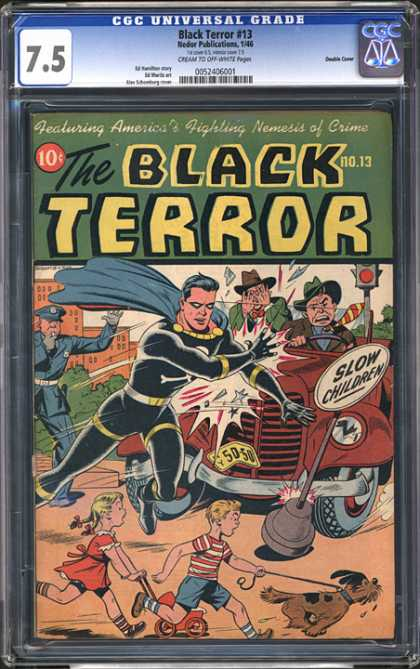 CGC Graded Comics - Black Terror #13 (CGC)