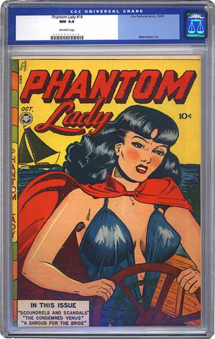 CGC Graded Comics - Phantom Lady #14 (CGC)