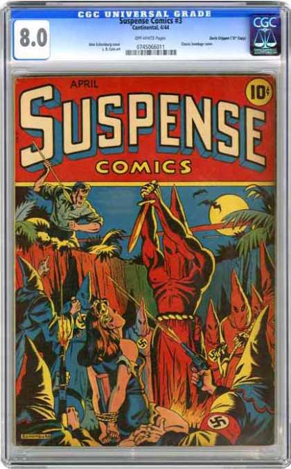 CGC Graded Comics - Suspense Comics #3 (CGC)