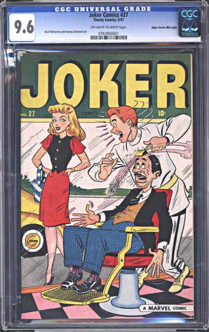 CGC Graded Comics - Joker Comics #27 (CGC)