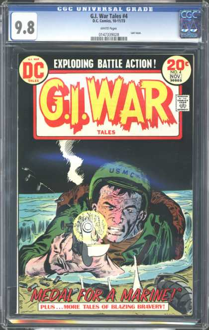 CGC Graded Comics - G.I. War Tales #4 (CGC)