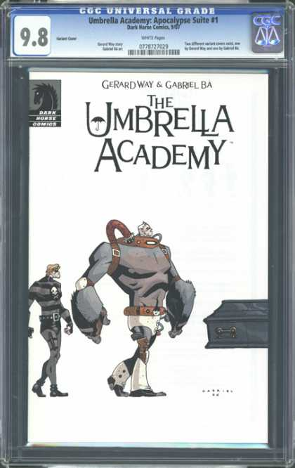 CGC Graded Comics - Umbrella Academy: Apocalypse Suite #1 (CGC)