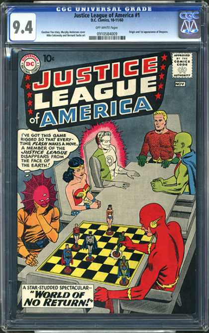 CGC Graded Comics - Justice League of America #1 (CGC)