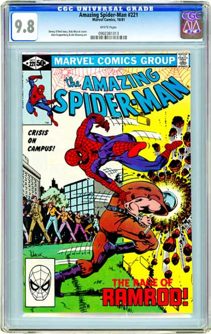 CGC Graded Comics - Amazing Spider-Man #221 (CGC)