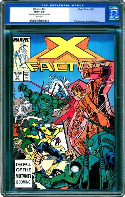 CGC Graded Comics - X-Factor #23 (CGC)