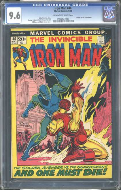 CGC Graded Comics - Iron Man #46 (CGC)