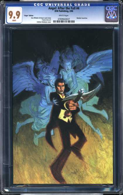CGC Graded Comics - Angel: After the Fall #4 (CGC)