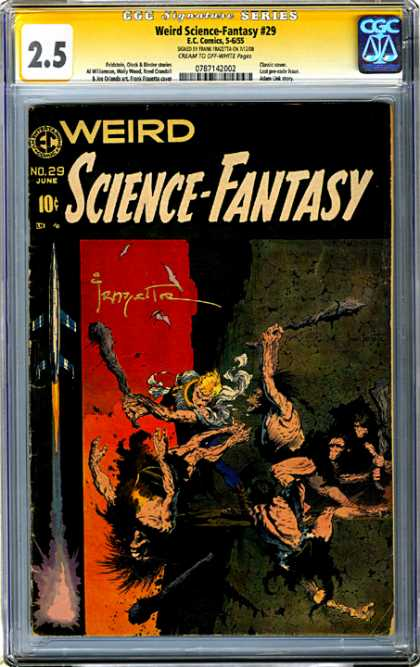 CGC Graded Comics - Weird Science-Fantasy #29 (CGC)