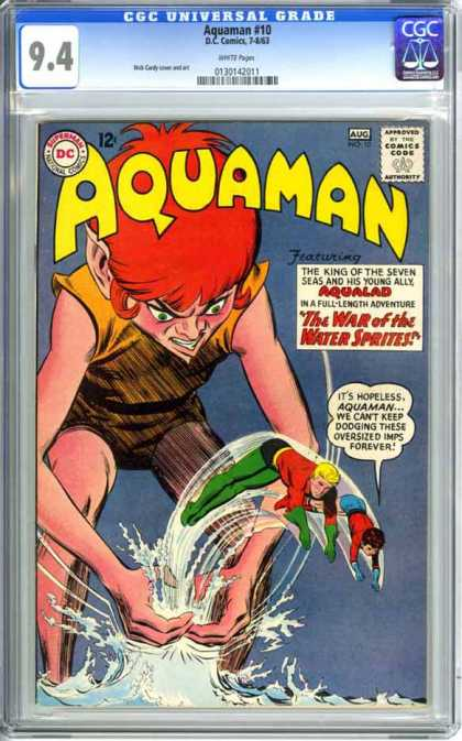 CGC Graded Comics - Aquaman #10 (CGC)