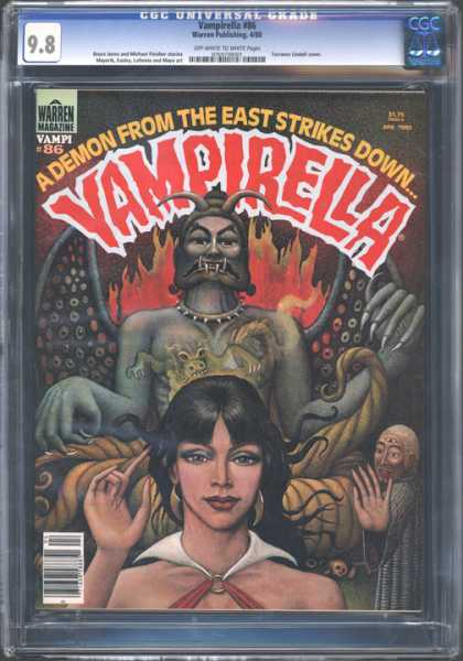 CGC Graded Comics - Vampirella #86 (CGC)