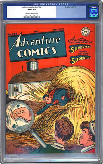 CGC Graded Comics - Adventure Comics #104 (CGC)