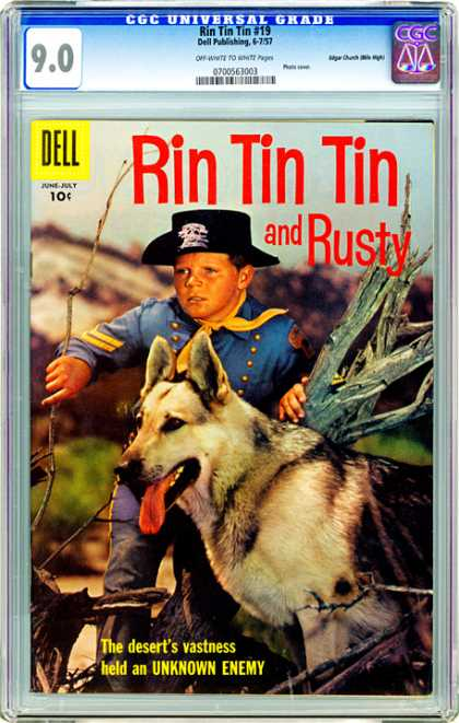 CGC Graded Comics - Rin Tin Tin #19 (CGC)