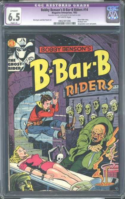 CGC Graded Comics - Bobby Benson's B-Bar-B Riders #14 (CGC)