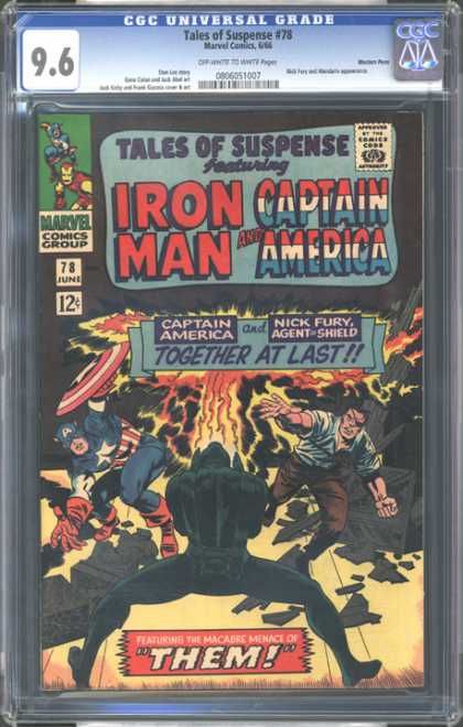 CGC Graded Comics - Tales of Suspense #78 (CGC) - Cgc Universal Grade - Tales Of Suspense - Iron Man - Captain America - Nick Fury