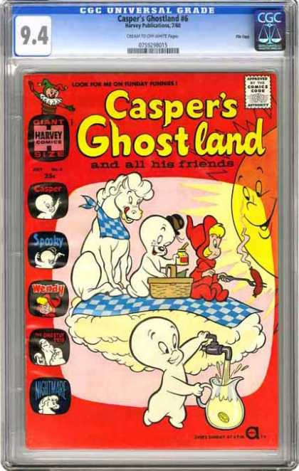 CGC Graded Comics - Casper's Ghostland #6 (CGC)