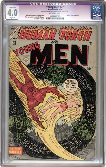 CGC Graded Comics - Young Men #27 (CGC)