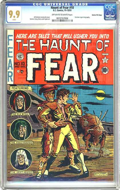 CGC Graded Comics - Haunt of Fear #10 (CGC)