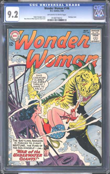 CGC Graded Comics - Wonder Woman #146 (CGC)