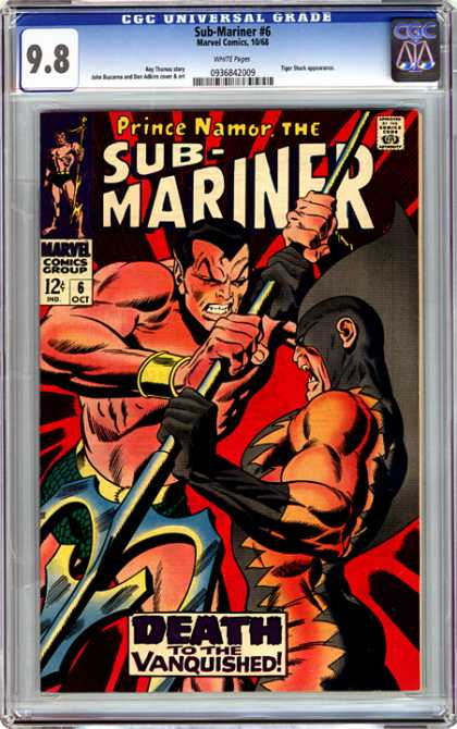 CGC Graded Comics - Sub-Mariner #6 (CGC)