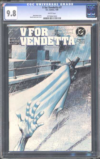 CGC Graded Comics - V for Vendetta #7 (CGC)