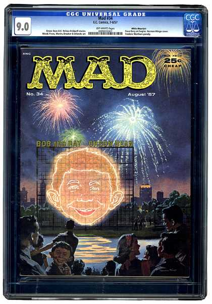 CGC Graded Comics - Mad #34 (CGC)